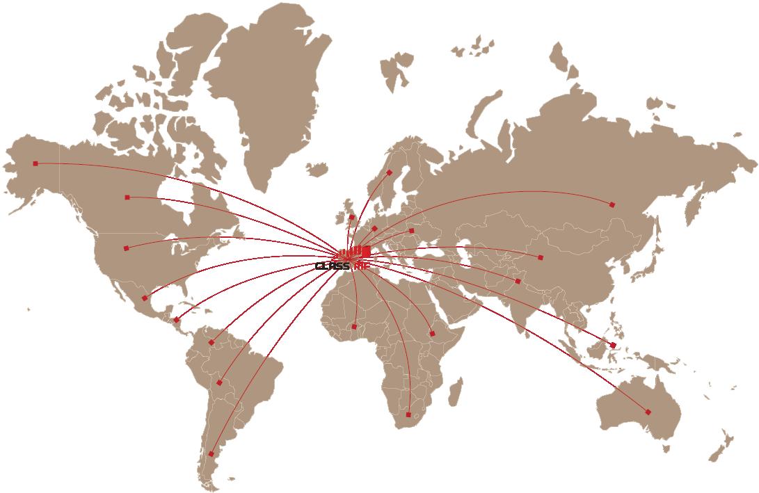 mapa exportación