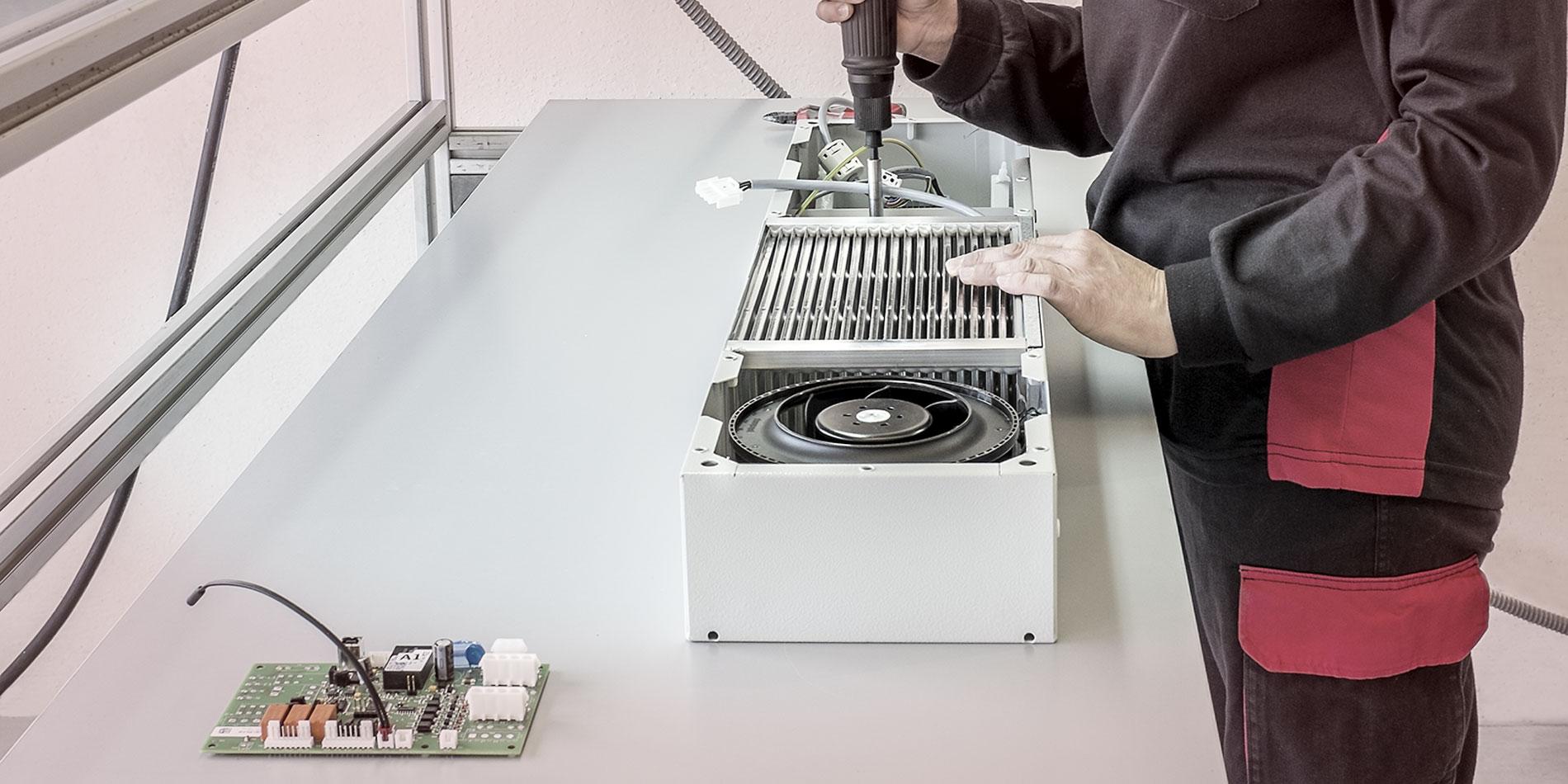 ensamble electromecánico