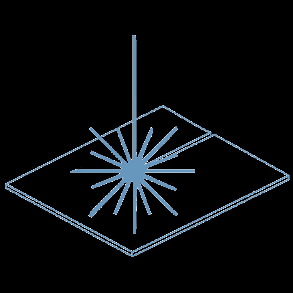 Icono corte láser soluciones industriales